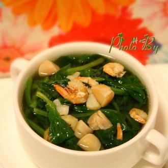干贝菠菜汤