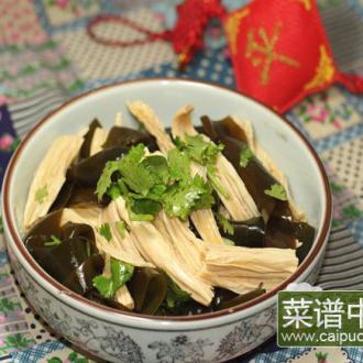 海带拌豆腐条