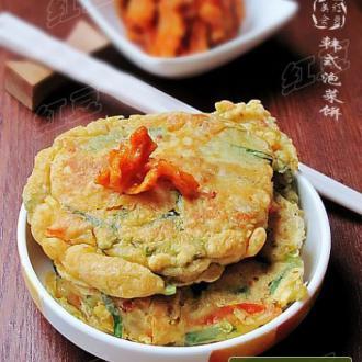 韩餐小吃---泡菜煎饼