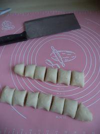 荠菜烫面小笼包的做法步骤8