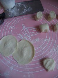 荠菜烫面小笼包的做法步骤9