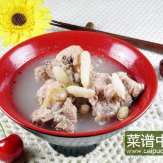 扁豆麦冬煲排骨
