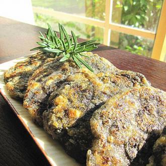 紫菜鱼肉豆腐饼