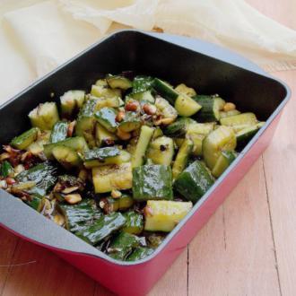 榄菜脆黄瓜