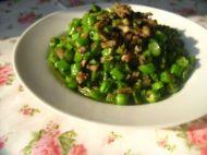 榄菜肉末四季豆的做法步骤11