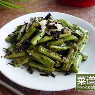 橄榄菜煸四季豆