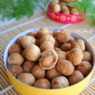 蜂蜜酥脆花生豆