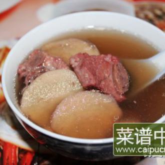 赤小豆粉葛排骨汤