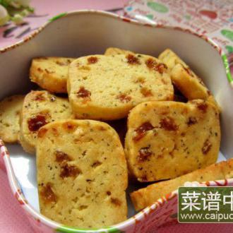 葡萄干红茶饼干