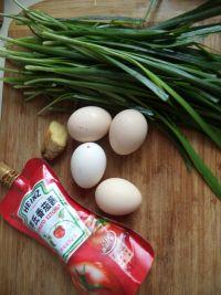糖醋韭菜炒鸡蛋的做法步骤1