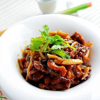 炒素黄鳝丝