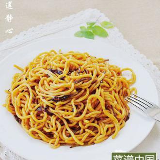 上海葱油拌面