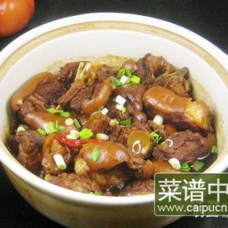 羊肉砂锅煲