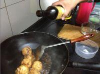 油面筋塞肉的做法步骤9