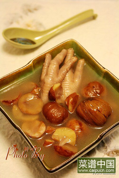 栗子凤爪汤