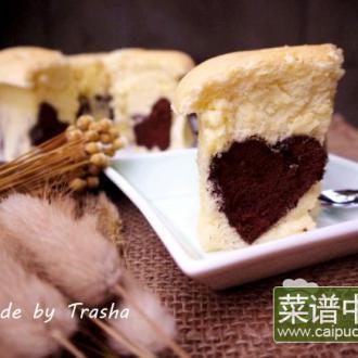 巧克力爱心蛋糕