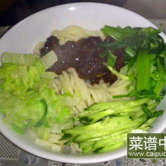韩式肉酱面
