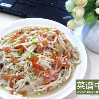 酸汤金针菇