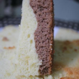 双口味戚风蛋糕