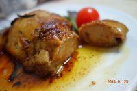煎法国鹅肝的做法步骤9