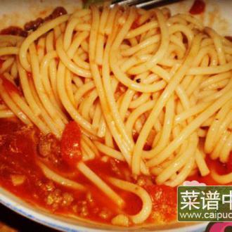 茄汁肉酱意粉