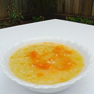小麦小米番薯粥