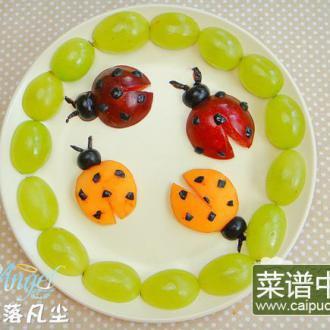小瓢虫果盘