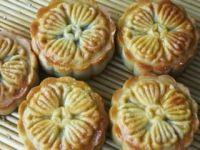 桂花红豆蓉月饼的做法步骤21
