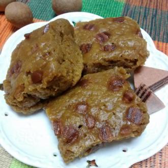 红糖桂圆山楂片年糕