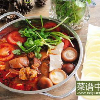 贵州酸汤猪脚火锅