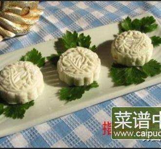 桂花葡萄干山药饼