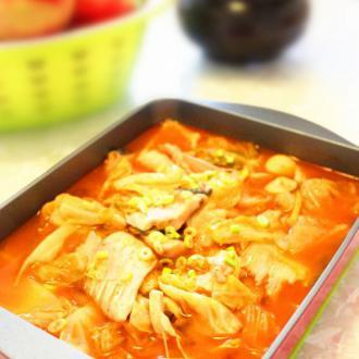 贵州红酸汤鱼