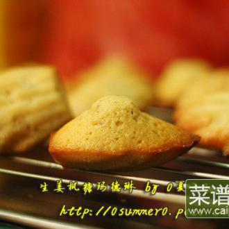 生姜枫糖玛德琳蛋糕