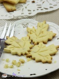 树叶饼干的做法步骤10