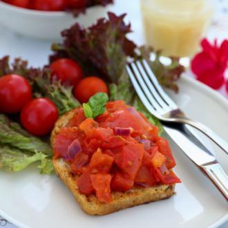 意式番茄三明治 Brusc