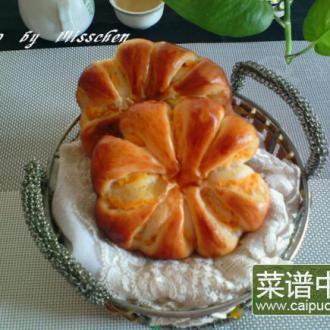 红薯菊花包