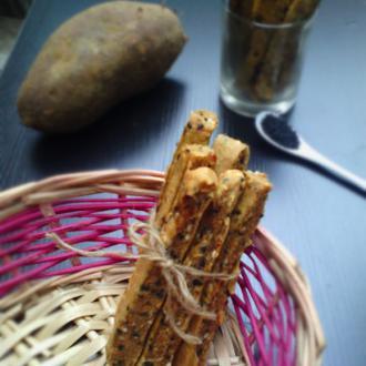 红薯芝麻棒