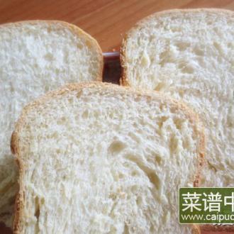 白面包——新手用面包