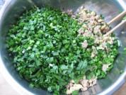 韭菜肉馅饼的做法步骤12