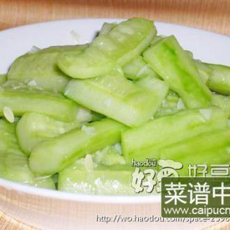 蒜炒拍黄瓜