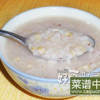 燕麦红米粥