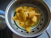 南瓜红豆汤圆的做法步骤1