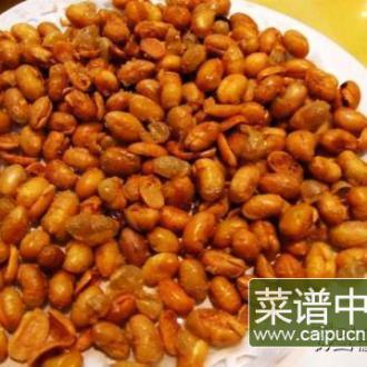 琥珀怪味豆