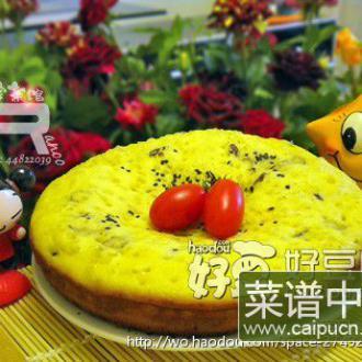 甜蜜枣花蛋糕