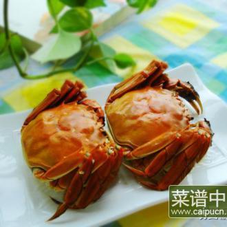 清蒸太湖蟹