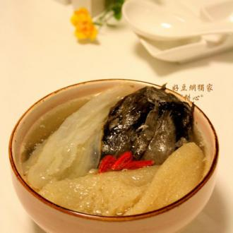 天麻竹荪乌鸡汤