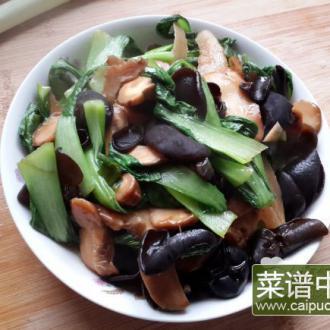 花菇木耳小油菜