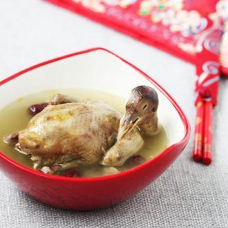 益母草鸽子汤