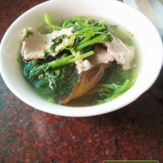 木耳益母草肉片汤
