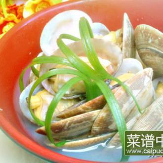 胡椒花蛤煲